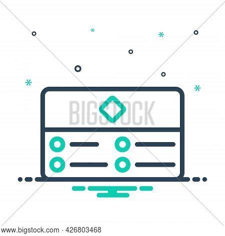 Mix Icon For Business-card Corporation Identity Marketing Greeting Card Presentation Responsive Invi