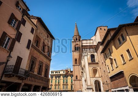 Basilica And Cathedral Of Sant'andrea (saint Andrew) In Renaissance, Baroque And Gothic Style (1472-