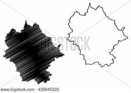 Limburg-weilburg District (federal Republic Of Germany, Rural District Giessen Region, State Of Hess