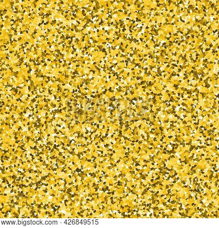 Golden Sand. Seamless Pattern For Invitation, Greeting Cards, Wrapping Paper