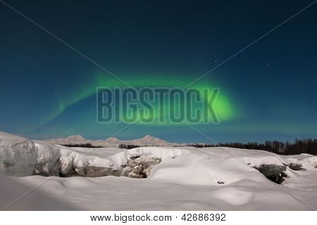 Northern Lights Over Denali