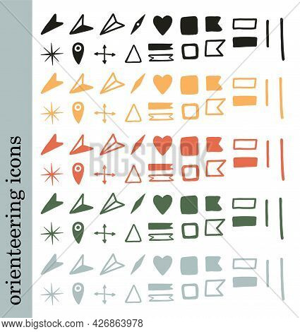 Green Scouts. Vector Isolated Illustration. Vector Typography Design. Vector Illustration Element. S