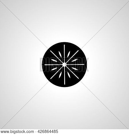 Pizza Icon. Pizza Isolated Simple Vector Icon
