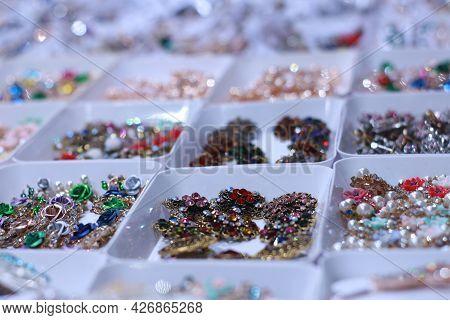 Jewelry In Window Display In Barisal, Bangladesh