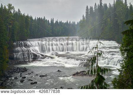 Dawson Falls Wells Gray Park Bc. Dawson Falls In Canada's Wells Gray Provincial Park.