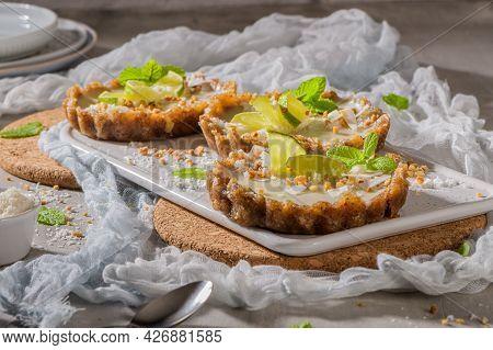 Lime Vegan Tarts
