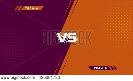 Abstract Gaming Battle Background Design. Combat Background Design