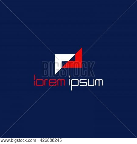 Av Slash Frame Logo Company Ready To Use. Logo Design Vector Template. Modern Logo Concept.