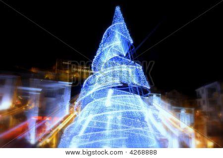 Girar a árvore de Natal