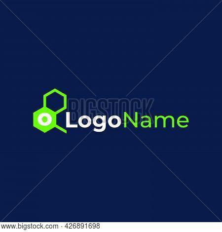 O Biotechnology Logo Company Ready To Use. Logo Design Vector Template. Modern Logo Concept.