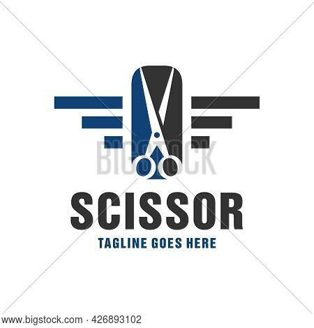 Scissors And Comb Inspiration Logo Design Or Brand
