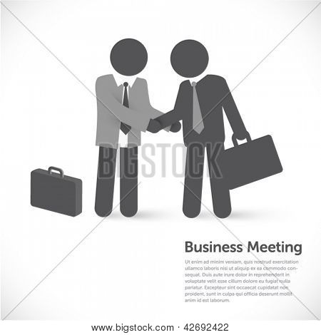 Business metaphors - handshake - Investment, partner