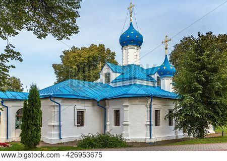 Church Of The Entry Of The Theotokos In Feodorovsky Monastery In Pereslavl-zalessky, Russia