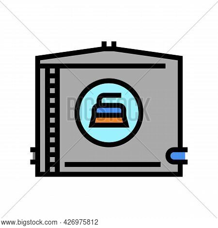 Water Tank Cleaning Color Icon Vector. Water Tank Cleaning Sign. Isolated Symbol Illustration