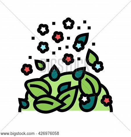 Flavoring Tea Color Icon Vector. Flavoring Tea Sign. Isolated Symbol Illustration