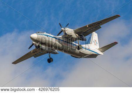 Saint Petersburg, Russia - October 28, 2020: An-26b-100