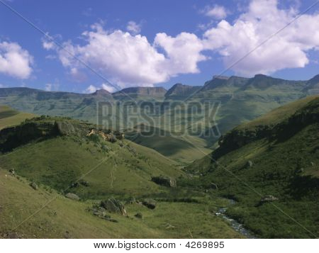 Drakensburg Mountain View