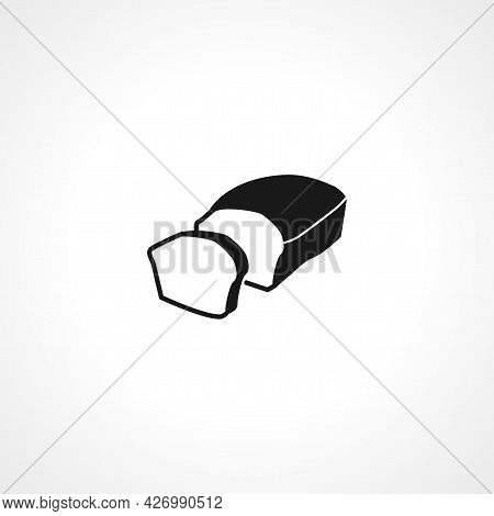 Bread Slices Icon. Bread Isolated Simple Vector Icon