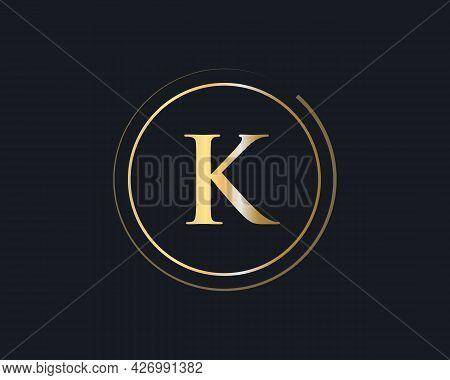 Premium Letter K Logo Design. K Letter Logo Design With Modern Trendy