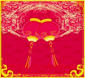 lanterns will bring good luck and peace to prayer during Mid-Autumn Festival for Chinese New Year poster