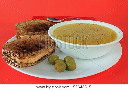 Stuffed Olives Garnish