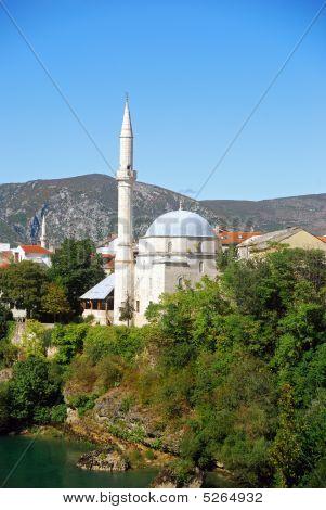 Koski Mehmed Pasha Mosque, Mostar, Bosnia-herzegovina