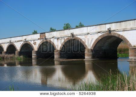 The Famous Bridge, Hortobagy, Hungary