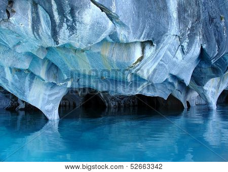 Marble caves.