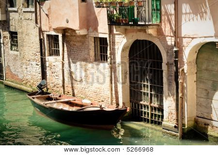 Canals Of Venice. Italy