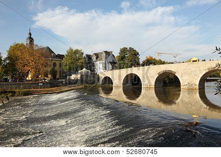 Old bridge in Wetzlar, Germany