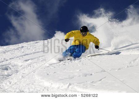 Freeride Skier .