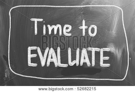 Time To Evaluate Concept
