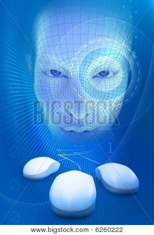Internet Future Concept
