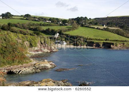 View of Talland Bay, Cornwall
