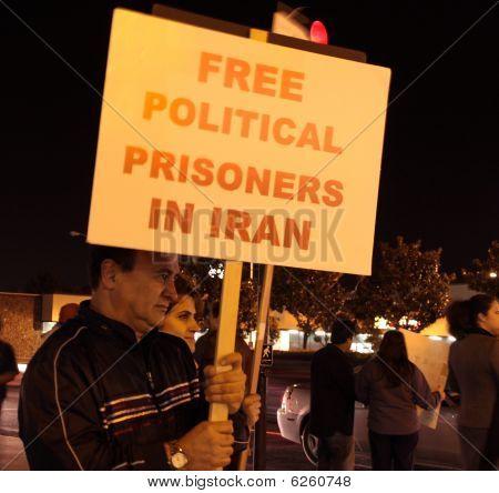 Iran freedom rally