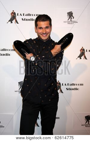 LOS ANGELES - MAR 31:  Gleb Savchenkoand at the LA Ballroom Studio Grand Opening at LA Dance Studio on March 31, 2014 in Sherman Oaks, CA