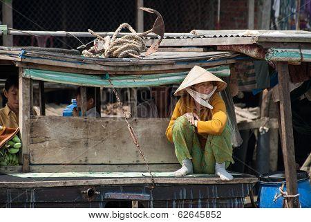 Travelling In Mekong Delta, Vietnam