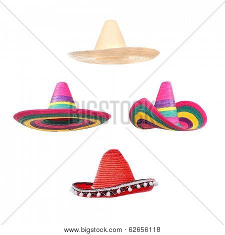 Sombreros collection.