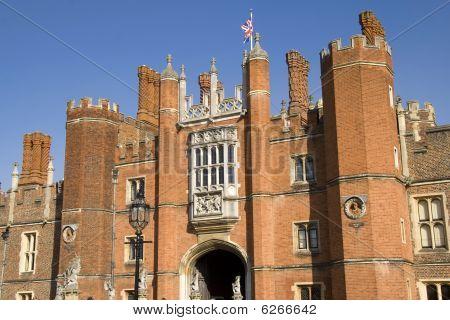 Ingang van Hampton Court Palace