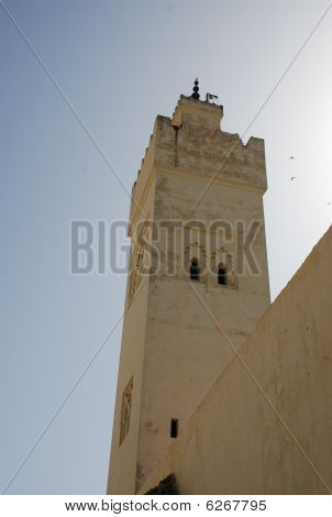 Tower Mosque In Morocco