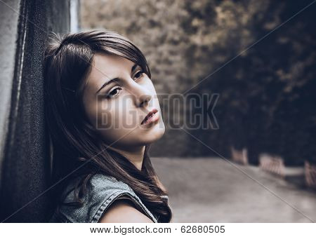 Lonely Sad Gir