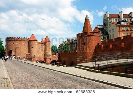 Warsaw City, Barbican Fortress