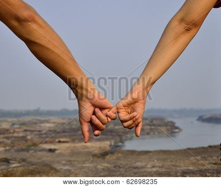 Hand In Hand Together We Can Go Further