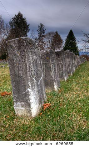 Civil War Gravestones