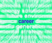 Career Word Meaning Job Profession Or Occupation poster
