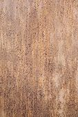 Texture of old grunge rust wall poster
