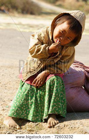 Asian Children, Poor, Dirty Vietnamese Kid