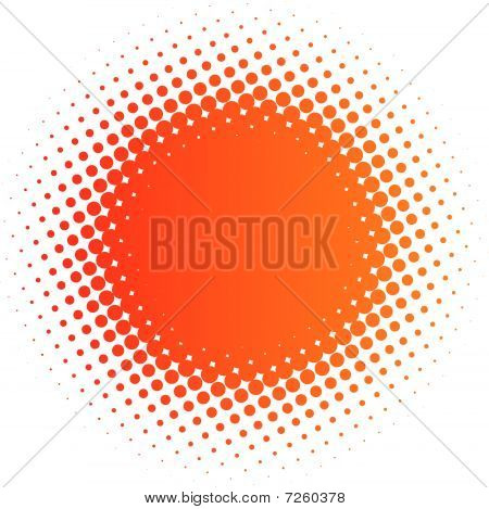 spotted flash (design element editable vector format enable) poster
