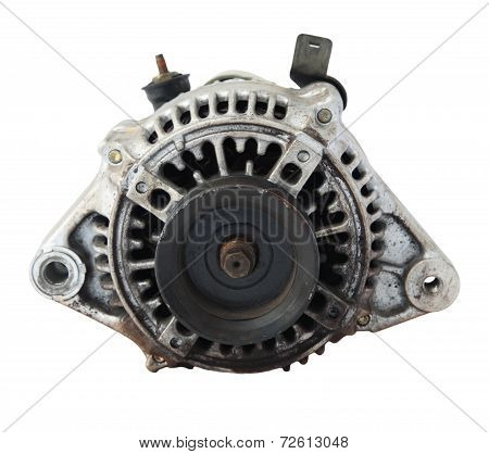 Used Automobile Generator Or Dynamo For Recycle
