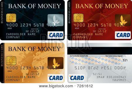Kreditkarten-Satz